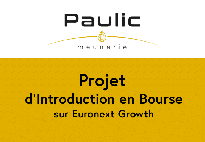 Projet d'Introduction en Bourse